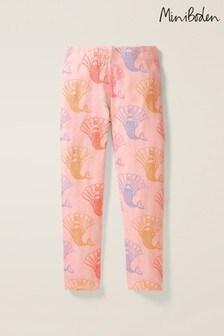 Boden Pink Fun Cosy Leggings