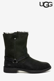 UGG® Black Aveline Classic Dresden Boots