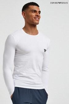 Emporio Armani Loungewear Long Sleeve Top