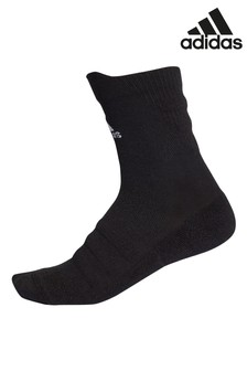 adidas Black Alphaskin Crew Socks