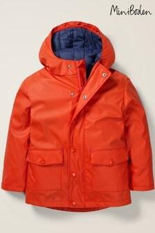 Boden Orange Waterproof 3-In-1 Raincoat
