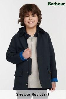 Barbour® Boys Navy Ashby Showerproof Jacket