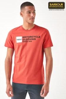 Barbour® International Small Block Logo T-Shirt