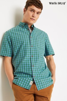 White Stuff Green Grindle Gingham Check Shirt