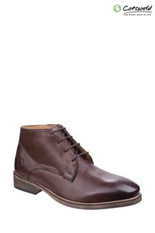 Cotswold Brown Maugesbury Ankle Boots