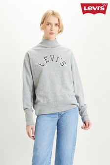Levi's® Grey Turtleneck Sweat Top