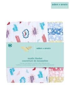 aden + anais Essentials 100% Cotton Muslin Blanket Wonder Woman - Power Pop