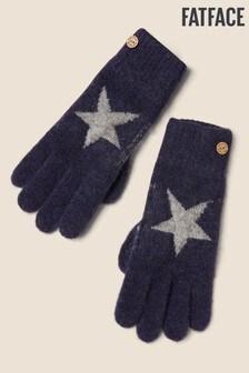 FatFace Blue Star Gloves