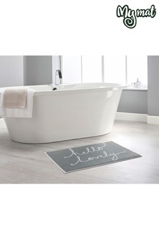 Hello Lovely Bath Mat by Dip & Drip
