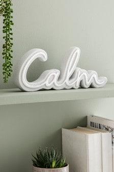 Calm Word Ornament