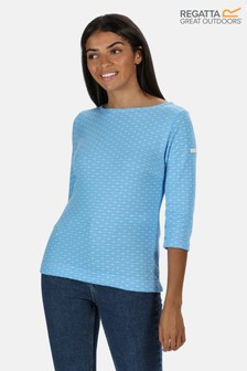 Regatta Helanie Striped 3/4 Sleeve Jumper
