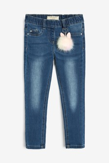 Jeggings With Pom Keyring (3-16yrs)