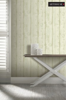 Washed Wood Wallpaper by Arthouse