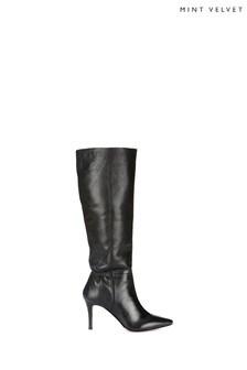 Mint Velvet Vanessa Pointed Leather Boots