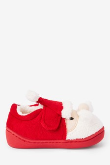 Boys Red Slippers | Boys Sock Boots