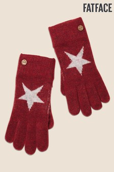 FatFace Red Star Gloves