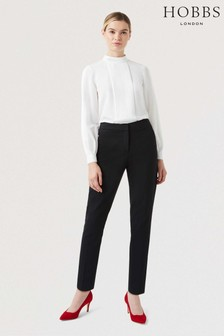 Hobbs Black Summer Gael Trousers