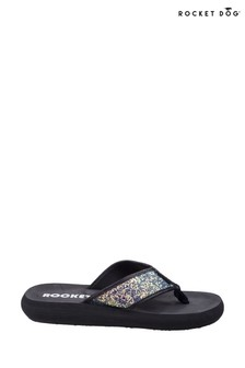 Rocket Dog Black Spotlight Solar Power Slip-On Sandals