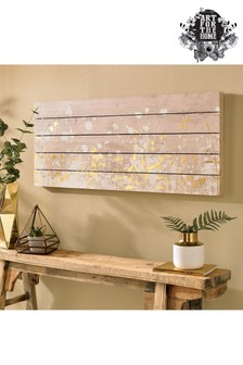 Metallic Wood Meadow Wall Art by Art For The Home