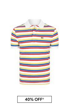 Lacoste Kids Multi Cotton Polo Top