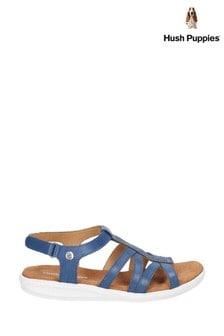 Hush Puppies Blue Callie Slingback Sandals