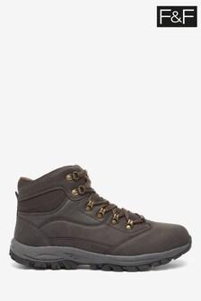 F&F Brown Trekking Boots