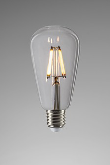 ES 4W LED Clear Pear Bulb
