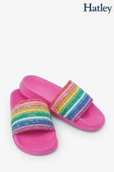 Hatley Over The Rainbow Slide On Sandals