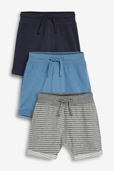 3 Pack Shorts (3mths-7yrs)