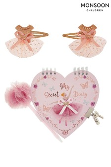 Monsoon Children Lovely Ballerina Diary Set