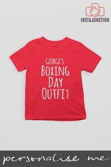 Personalised Boxing Day T-Shirt by Instajunction