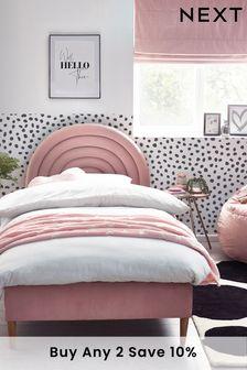 Blush Pink Rainbow Bed