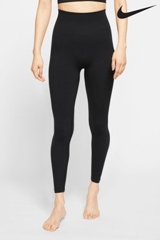 Nike Yoga Black 7/8 Seamless Leggings