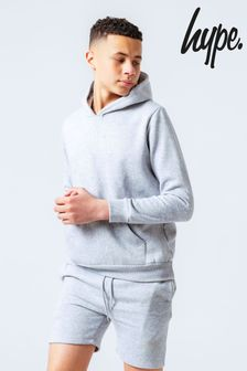 Hype. Grey Kids Hoody And Shorts Set