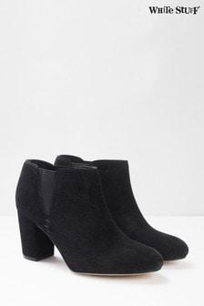 White Stuff Black Lottie Smart Shoe Boots