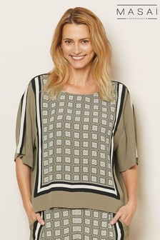 Masai Green Daryle Top