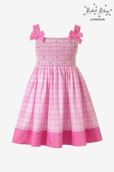 Rachel Riley Pink Check Dress