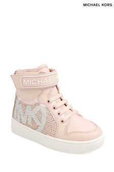 Michael Kors Rose Gold Trainer Boots