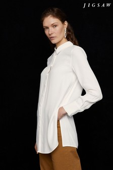 Jigsaw Natural Longline Tunic Shirt