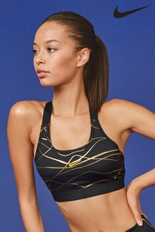 Nike Swoosh Icon Clash Medium Support Sports Bra