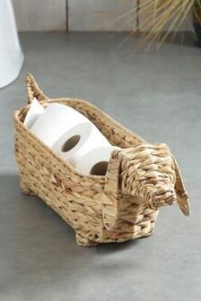 Sausage Dog Storage Basket