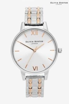 Olivia Burton Sunray Two Tone Bracelet Watch