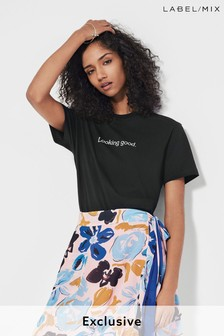 Mix/Blouse Feeling Gorgeous Printed T-Shirt