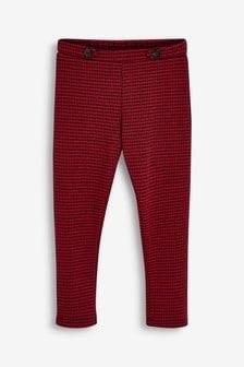 Check Ponte Trousers (3-16yrs)