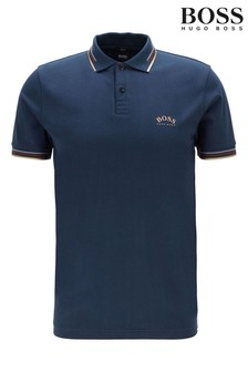 BOSS Paul Curved Poloshirt