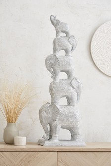Stacking Elephants Sculpture
