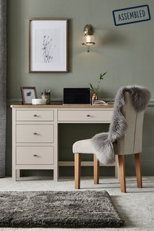 Hampton Slim Storage Dressing Table