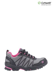 Cotswold Pink Littledean Lace-Up Hiking Waterproof Boots