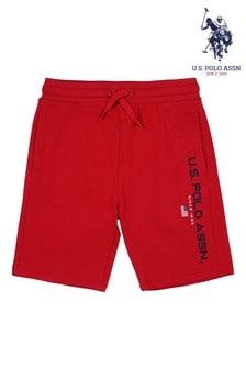 U.S. Polo Assn. Red Sport Shorts