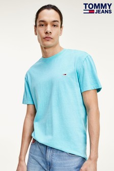 Tommy Jeans Blue Sunfaded Flag T-Shirt
